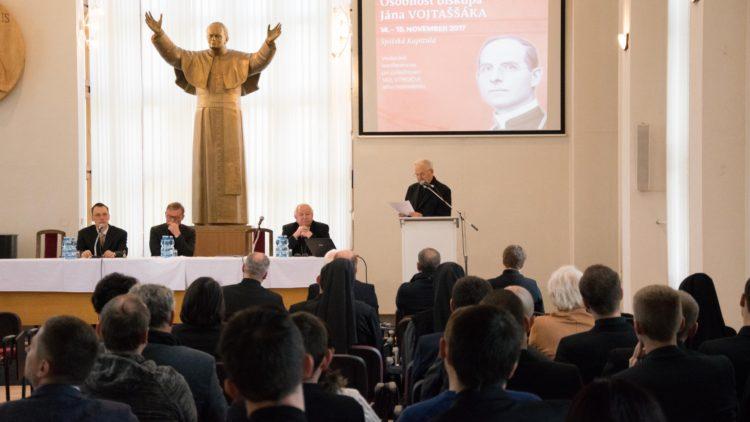 Konferencia obiskupovi Jánovi Vojtaššákovi